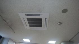 総合福祉センター2階ロビー系統空調機入替工事