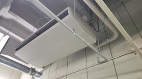 5系水処理電気室空調機改築工事